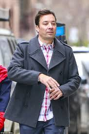 his and wedding jimmy fallon steps out without wedding ring on following horrific