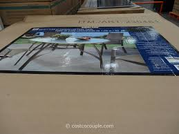 Agio Patio Furniture Costco - kirkland signature 50 inch patio table