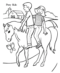 inspirational free printable horse coloring pages 40