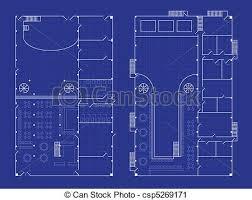 blueprint floor plan simple nightclub blueprint floorplan for a nightclub with vector