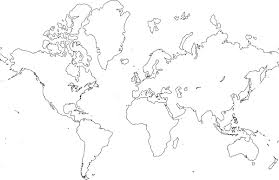 world map image drawing free clipart of world map clipground
