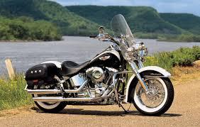 harley davidson harley davidson flstn softail deluxe moto