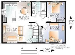 starter home plans w3137 economical modern rustic starter home design with open floor