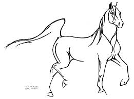 simple drawing of horse horse easy drawing how to draw a horse