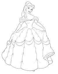 thousands disney princess coloring pages print