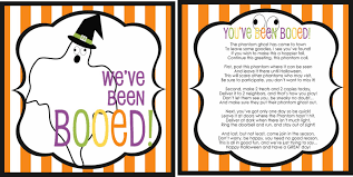 Halloween Poems Scary It U0027s Written On The Wall 16 Versions You U0027ve Been Booed Fun