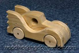 Plans For Wood Toy Trucks by Wooden Toy Car Plans Fun Project Free Design Batmobile Wood