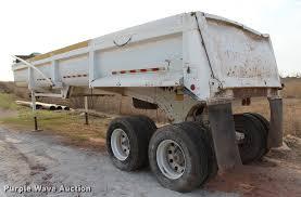 2006 clement starlite 35 end dump trailer item l4955 sol