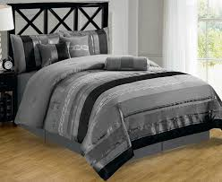 new silver bedding sets king 81 with additional black and white