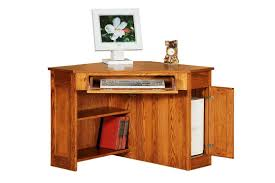 Cherry Wood Computer Armoire by Modern Wooden Corner Desk Furniture For Home Offices Bedroom Ideas