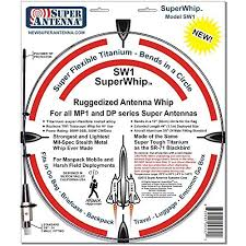 Rugged Ham Radio Antenna Mp1dxr Hf Portable Superwhip All Band Mp1 Antenna With