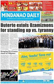 mindanao daily august 19 20 2017 by dante sudaria issuu