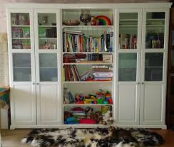 White Bookcases With Doors by Ikea Liatorp Bookcase Modern Office Study Pinterest Liatorp