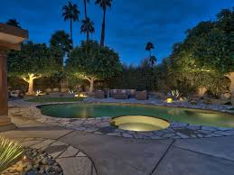 private desert oasis luxurious u0026 modern salt water pool u0026 spa