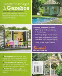 backyard cottage designs sunset outdoor design guide backyard cottages u0026 gazebos fresh