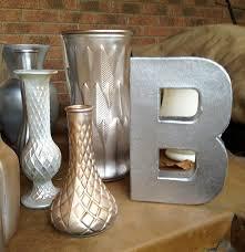 Mercury Glass Vases Diy Metallic And Mercury Glass Sunny Slide Up