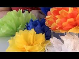 How To Make Mexican Paper Flowers - how to fold u0026 cut a paper flower ball festive decorations youtube