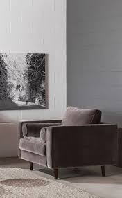 Grey Velvet Sectional Sofa by Baxton Studio Alcoa Gray Fabric Modular Modern Sectional Sofa