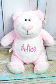 Engraved Teddy Bears Personalized Teddy Bear Baby Gift Monogrammed Stuffed Animal