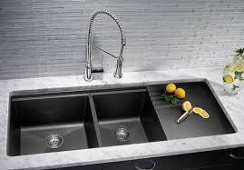 double sinks for kitchens blanco silgranit kitchen sinks kitchen sinks houston