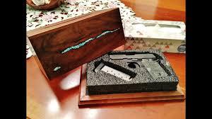 concealment furniture hide a gun locking tissue box youtube