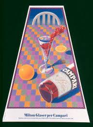 campari art penccil vintage campari posters