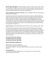 resume manager position erik d resume for project manager position