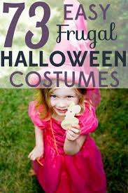 ideas for homemade halloween costume