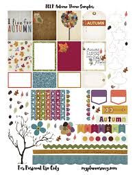 erin condren life planner free printable stickers free printable autumn sler for the erin condren life planner
