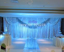 Buy Cheap Curtains Online Canada Order Wedding Decorations Online Milk White Wedding Backdrop