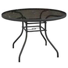 42 Patio Table Four Seasons Courtyard Verona Glass Top Table 42 In Model
