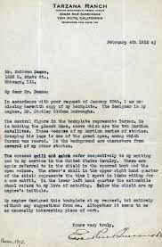 wedding wishes letter file letter from edgar rice burroughs to ruthven deane 1922 jpg