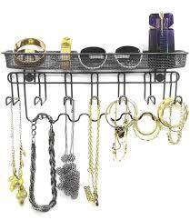 amazon com sorbus jewelry organizer holder mail u0026 key rack 13
