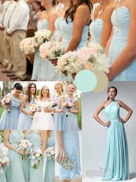 winter bridesmaid dresses wedding trends blue wedding color themes for winter 2013 2014