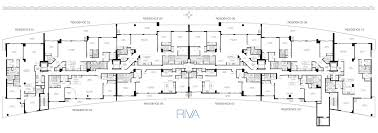 Madison Residences Floor Plan by Floorplans Riva Fort Lauderdale Apartments In Fort Lauderdale