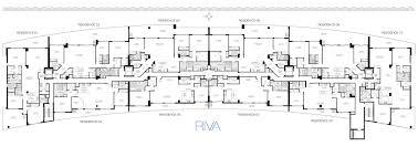 Residence Floor Plans Floorplans Riva Fort Lauderdale Apartments In Fort Lauderdale