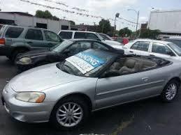2003 Chrysler Sebring Interior Used Chrysler Sebring For Sale In Saint Louis Mo Edmunds