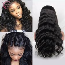 best hair on aliexpress best full lace human hair wigs for black women brazilian body wave