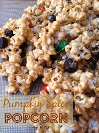 popcorn for halloween pumpkin spice popcorn halloween treat mommysavers