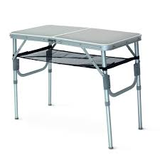 aluminium roll up table cing cing tables tentworld