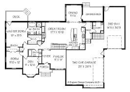 Blueprints For Houses With Basements - trendy floor plans houses elegant affordable house plans 75675