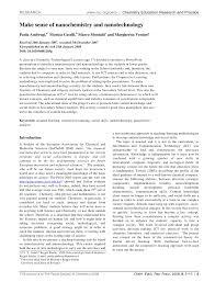 make sense of nanochemistry and nanotechnology pdf download