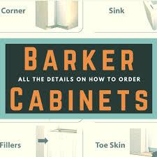 ordering barker cabinets part 1