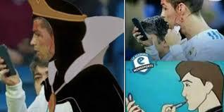 Cristiano Ronaldo Meme - los divertidos memes de cristiano ronaldo tras recibir golpe en la
