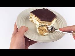 easy chocolate eclair cake recipe youtube
