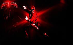 red ranger wallpaper