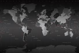 Map Of World Time Zones World Time Zones Wall Map Mural
