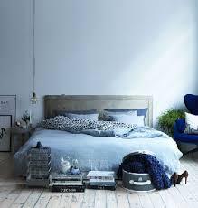 chambre bleu et déco chambre bleu pastel et gris