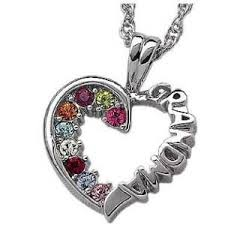 grandmother s necklace amusing necklaces for sterling silver birthstone necklace