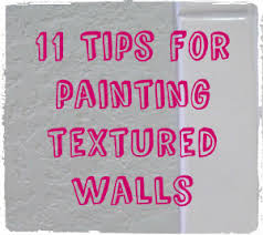 Textured Painted Walls - 11 tips for painting textured walls operation home